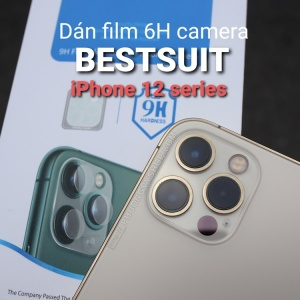 "Dán camera iPhone 12 Pro 6.1"" - hiệu Bestsuit"